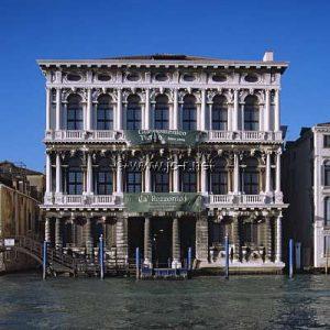 Ca ' Rezzonico , Grand Canal Venice.