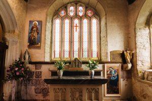 Godolphin Chapel. Altar.