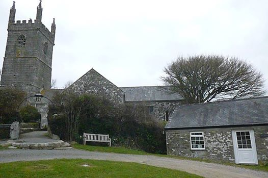 St Mawgan in Menage Church ; Vyvyan Coach House