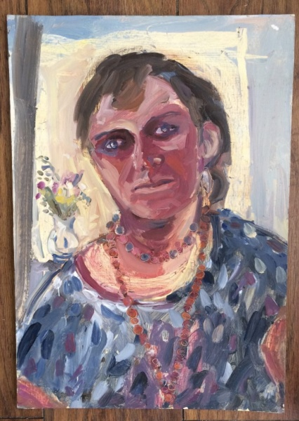 oil painting, male to female transition, porthleven artists studios, Zoe Cameron, Gallery,